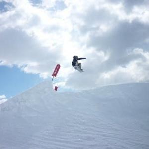 Snowboard Jump